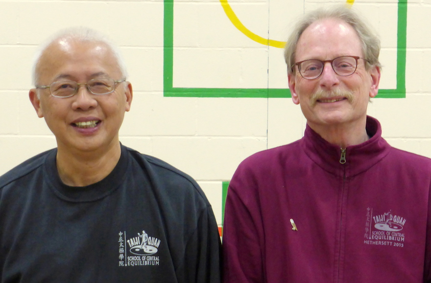 Wee Kee Jin (Taijiquan School of Central Equilibrium) en Philip Unger